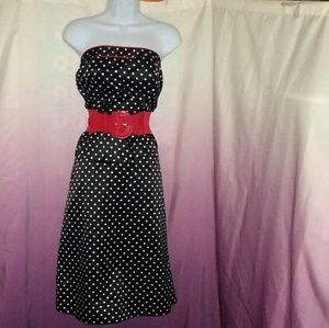 Torrid Rockabilly Polka Dot Dress